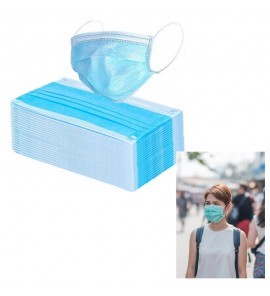FDA Approved 3 Ply Latex Free Face Masks (pack of 250)