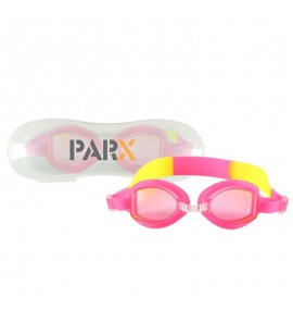Children's Swim Goggles with Case - Pink
