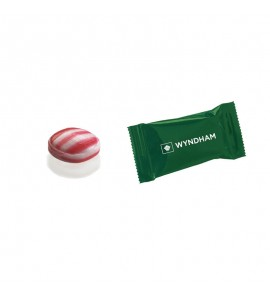Individually Wrapped Red Striped Peppermint Candies