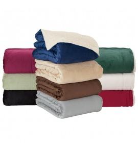 Micro Mink Sherpa Blanket