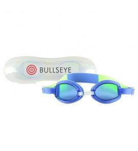 Children's Swim Goggles with Case - Blue