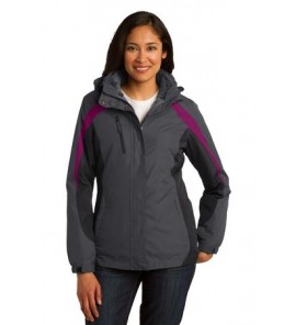 Port Authority Ladies Colorblock 3-in-1 Jacket