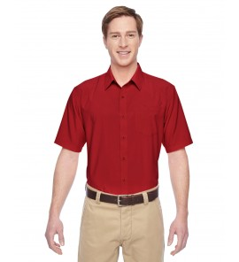 Harriton Men's Paradise Short-Sleeve Performance Shirt