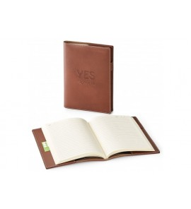 NATHAN GENUINE LEATHER REFILLABLE JOURNAL