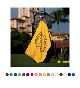 MIDWEIGHT GOLF TOWEL WITH CORNER GROMMET
