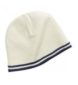 Port & Company - Fine Knit Skull Cap wtih Stripes